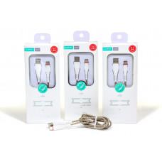 USB Кабель Xipin Type-C, 1.2м (Тканевый)